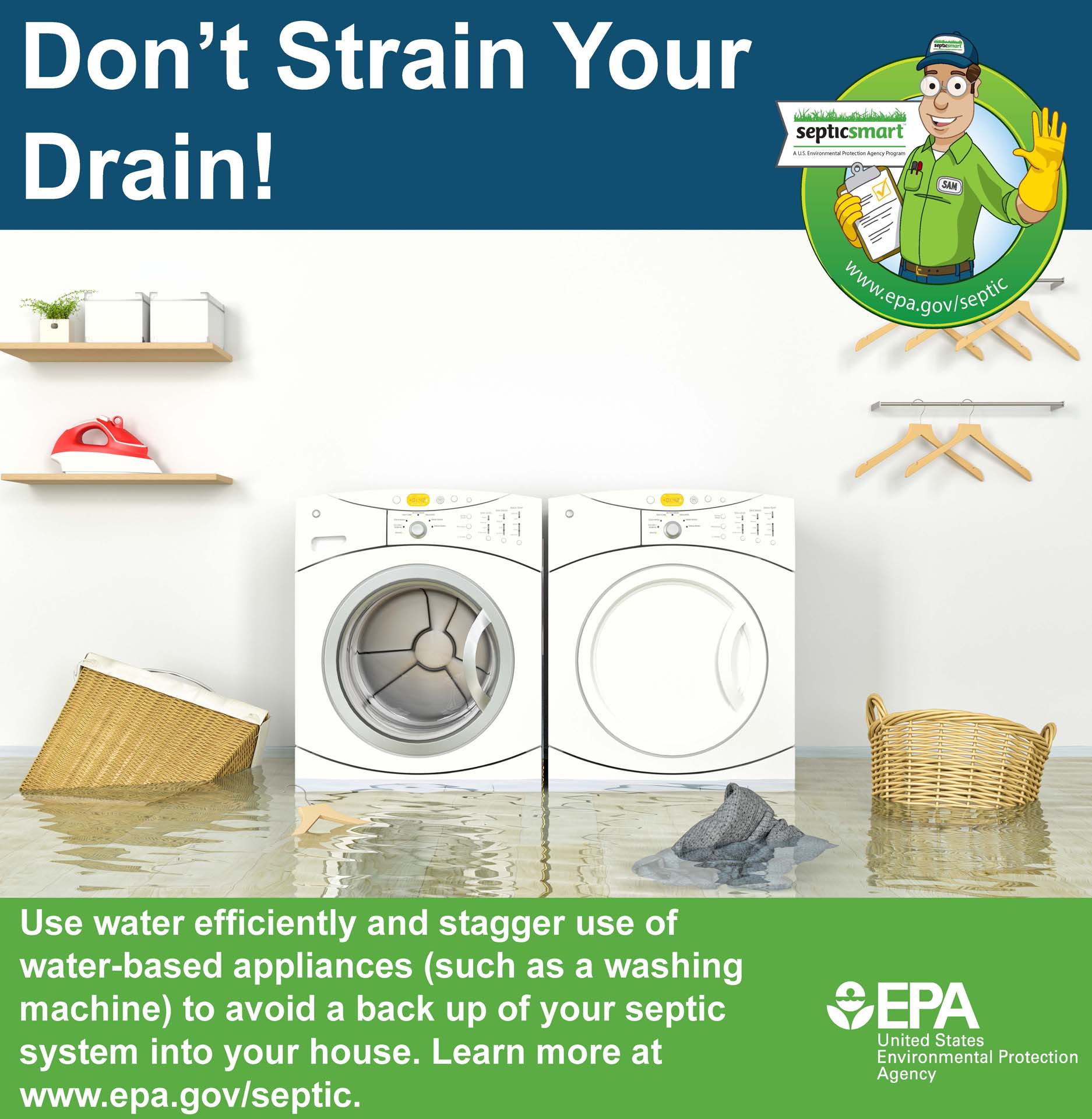 dont strain your drain 2018